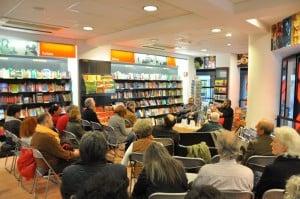 """Presentazione del libro di Tiziano Fratus su """"Manuale del perfetto cercatore d'alberi"""" presso la Libreria Feltrinelli a Torino (mercoledì 3 aprile 2013)."""
