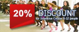 Special discount 20%