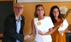certificato agli studenti di Cultura Italiana Bologna