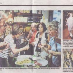 cultura italiana bologna press review Aftenposten (Norvegian Newspaper) page 3